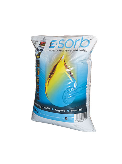 E-Sorb Oil Absorbent for land & water