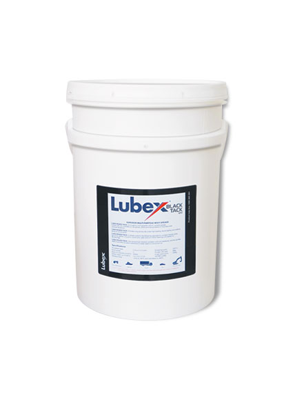 lubricon lubex black tack grease lubrication