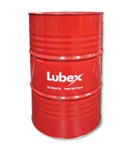 lubricon lubex oil drum 205l red